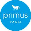 Primus Talli on ratsastuskoulu Marketanpuistossa Espoossa Logo